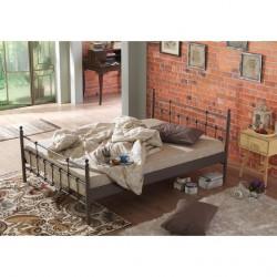 Unimet Lalas pat din metal Brun
