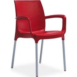 Scaune - 6buc (Culoarea roșie)