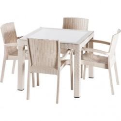 Set mobilier de exterior