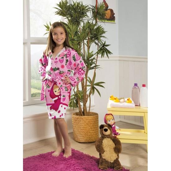 Materiale textile pentru baie - Masha și  Ursul halat de baie