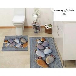 Set covoareşe de baie 3D