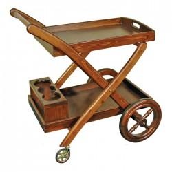 cărucior servire în stil învechit Albero Home