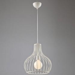 Lampa cu pandantiv alb Colivie