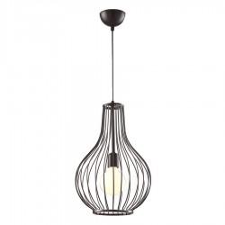 lampă suspendată neagră- Colivie