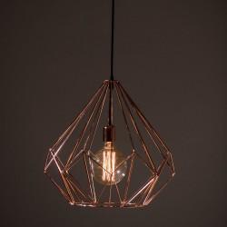 Emmy Cupru Iluminat lampă suspendată Midi