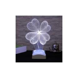 Lamba 3D Trifoi 18x27 Cm