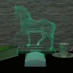 lampă 3D Cal