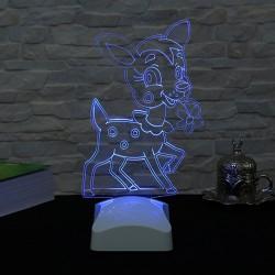 Lambă 3D Căprioară