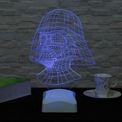 Lambă 3D Darth Vader Star Wars 19x28 Cm