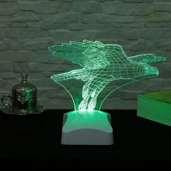 Lampă 3D Vulture