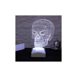 Lampa 3d Craniu 15x23cm