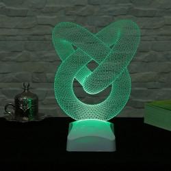 Lambă 3D Țeavă spirală