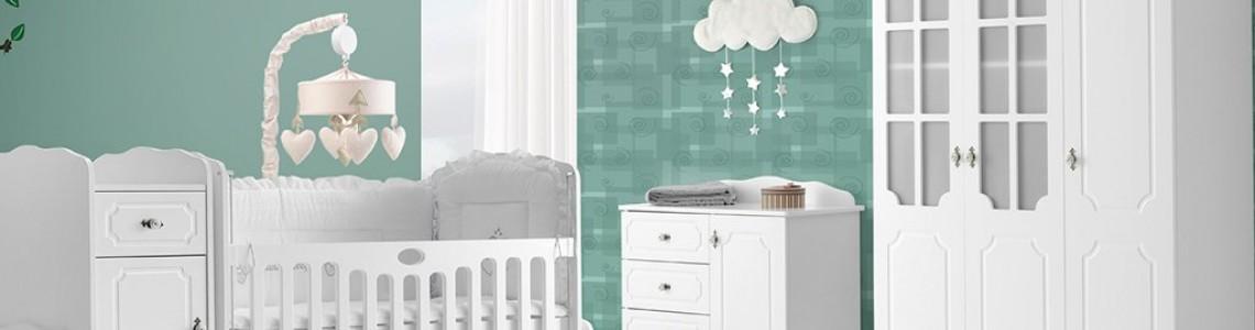 Mobilier pentru camere pentru bebeluși, băieți și fete, camere twin pentru bebeluși