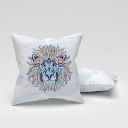 Erenev Pernă de pernă decorativă cap de leu 43X43CM