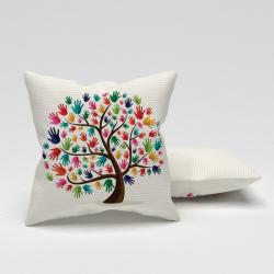 Erenev Perna decorativa maini pe copac 43x43 cm
