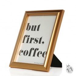 But First Coffee Poster înrămat