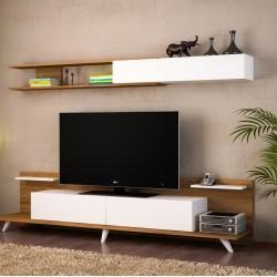 Comoda TV Alb/Nuca