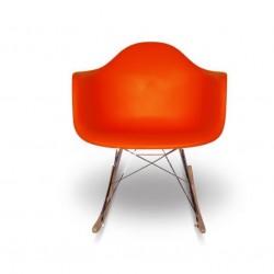 Eames Scaun-leagan portocaliu