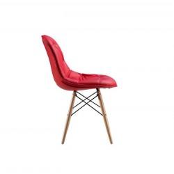 Scaunul  Eames  Roşu