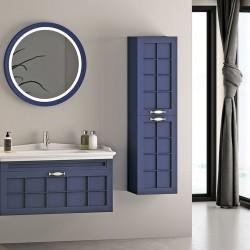 Set Mobilier pentru baie, 4 piese , 80 cm / 100cm