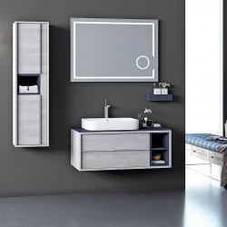 Set Mobilier pentru baie, 4 piese / 5 piese , 80cm / 100cm / 120cm