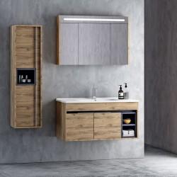 Set Mobilier pentru baie, 4 piese , 65cm / 85cm / 100cm