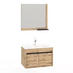 Set Mobilier pentru baie, 3 piese , 55 cm / 65cm / 75cm  / 100cm
