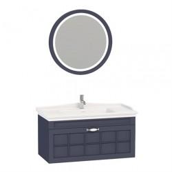 Set Mobilier pentru baie, 3 piese , 80 cm / 100cm