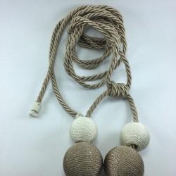 La două rânduri de fixare aparat din cordonul ombilical Rope Cortina Fund Corniche do it yourself One Piece