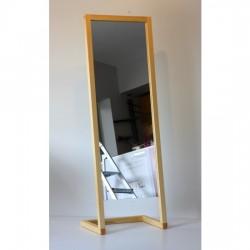 Oglinda de podea din lemn masiv de lungime 170 x 60 x 40 cm
