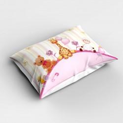 Else roz Animale 3d dormitor Patterned pernă 50x70cm