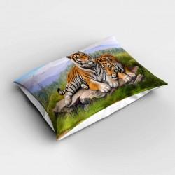 Else Tigers 3d dormitor Patterned pernă 50x70cm