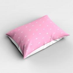 Else roz Stele 3d dormitor Patterned pernă 50x70cm