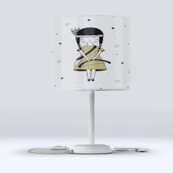 Hood Little Princess Else Fabric Lampshade camera pentru copii Modern