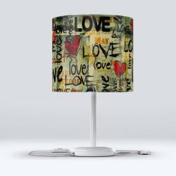 Scrieri Else dragoste Fabric Lampshade Modern Salon Hood