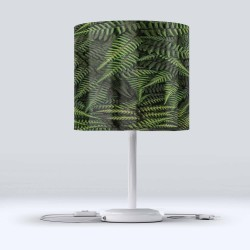 Else Tropical Frunze Hood Fabric Lampshade Modern Living