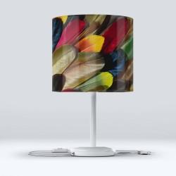 Pene colorate Else Hood Fabric Lampshade Modern Living