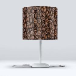 Fasole Else Cafea Hood Fabric Lampshade Modern Living