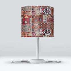 Red Riding Hood Else model oriental Fabric Lampshade Modern Living