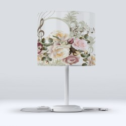 Hood Fabric abajur Modern Floral Hall scoruri Else