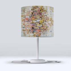Pătrate Else Modern Living Color Fabric Lampshade Hood
