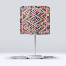 Geometrică etnică Fabric Lampshade Modern Living Color Else Hood