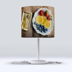 Altfel Fabric Lampshade platou cu fructe moderne de bucătărie Hood