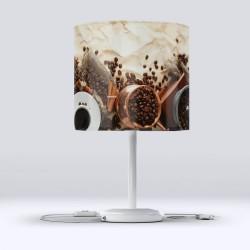 Else turcesc Cafea Fabric Lampshade moderne de bucătărie Hood