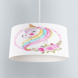Else Unicorn Montat cameră pandantiv Chandelier model copil