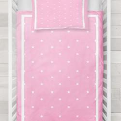 Else roz alb Stele model 3D Baby seturi Duvet