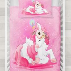 Else Pink Princess Pat cal 3d Seturi Patterned Duvet