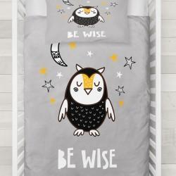 Sleepy Owl model 3d Cute Pat Else lenjerie de pat