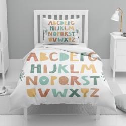 Else colorate Alfabetul Litere singur model pentru copii Seturi Duvet