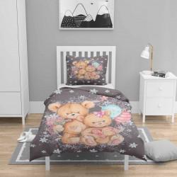 Seturi camera 3d Duvet Else Baloane Bears pentru copii